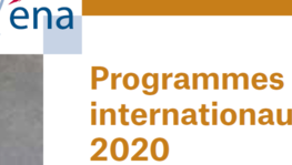 Programmes internationaux ENA 2020