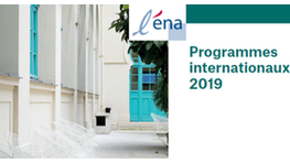 Programmes internationaux ENA 2019